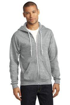 Anvil Full-Zip Hooded Sweatshirt. 71600