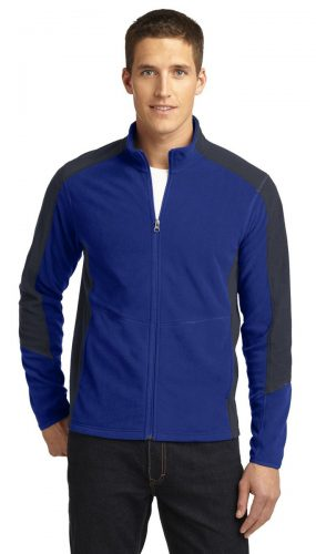Colorblock Microfleece Jacket. F230