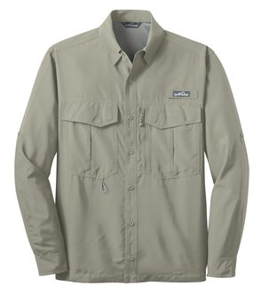 Eddie Bauer® – Long Sleeve Performance Fishing Shirt