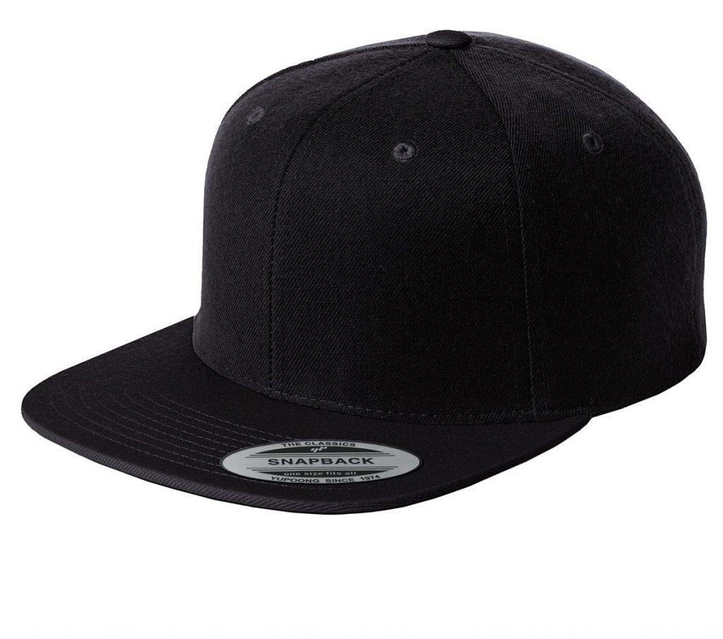 Flatbill snapback cap