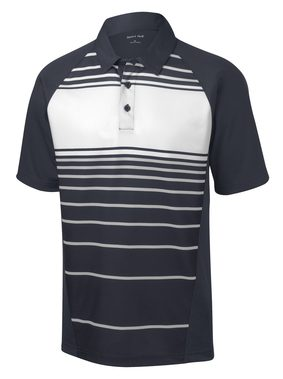 Sport Men's Dry Zone® Sublimated Stripe Polo