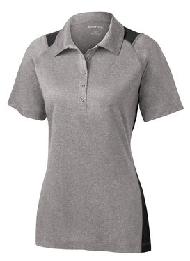 Sport Ladies Heather Colorblock Contender™ Polo