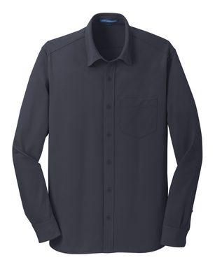 Everyday Dimension Knit Dress Shirt