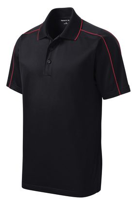 Sport Men's Micropique Sport-Wick® Piped Polo