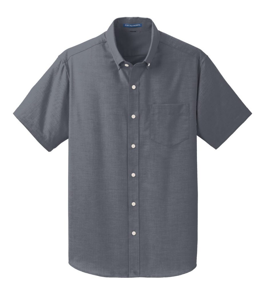 Everyday Men's Short Sleeve SuperPro™ Oxford Shirt