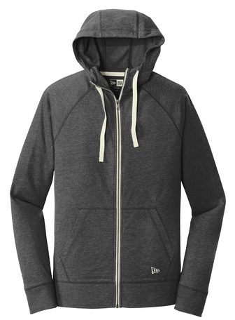 New Era Men's Sueded Cotton Full Zip Hoodie