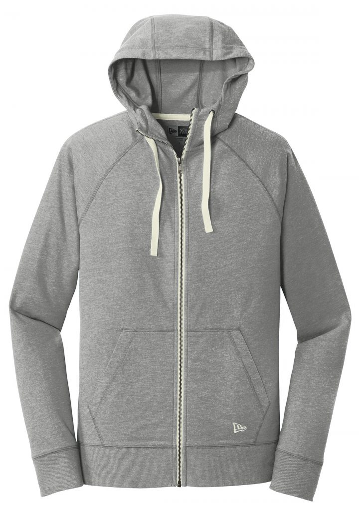 New Era Sueded Cotton Full Zip Hoodie