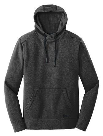 New Era Men's Triblend Fleece Pullover Hoodie