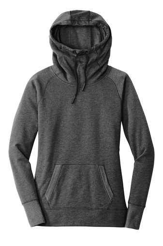 Ladies New Era Triblend Fleece Pullover Hoodie