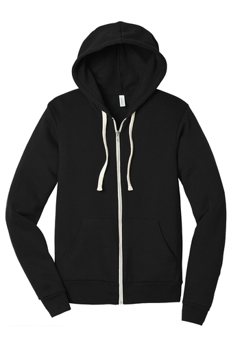 Bella+Canvas ® Unisex Triblend Sponge Fleece Full-Zip Hoodie