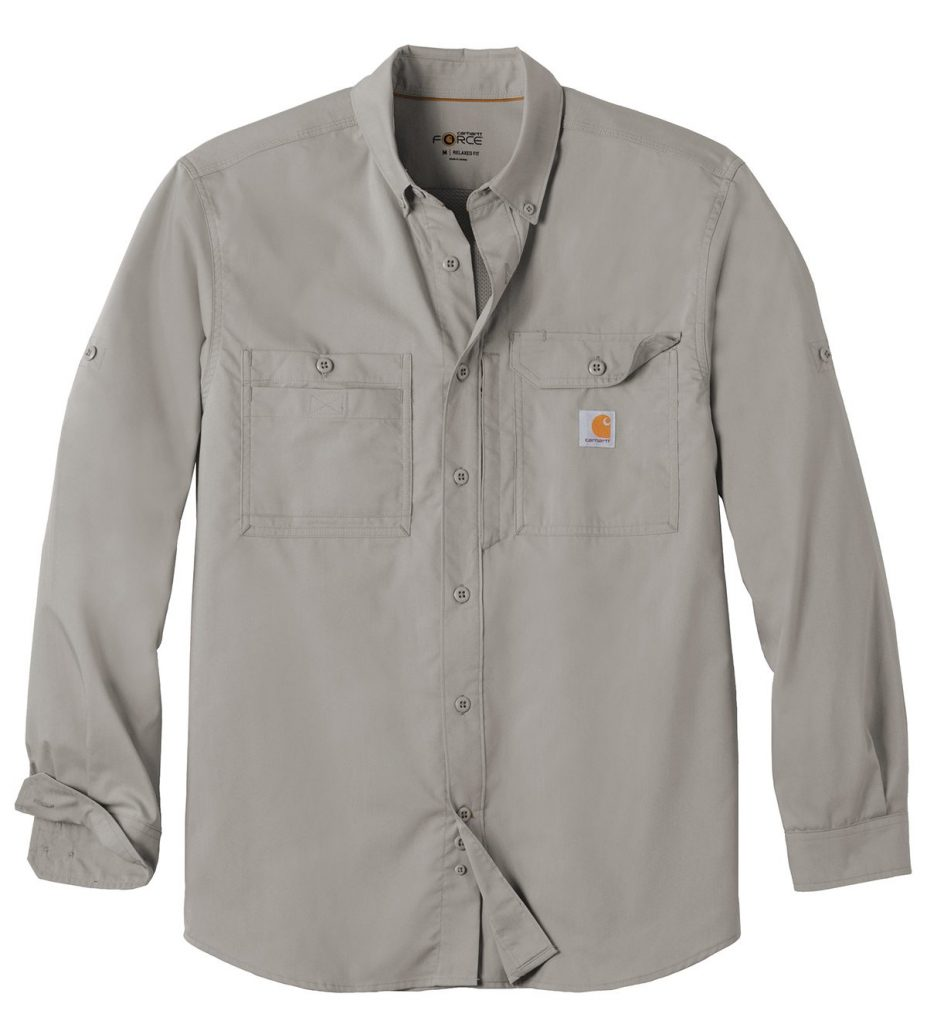Carhartt Force ®Ridgefield Solid Long Sleeve Shirt