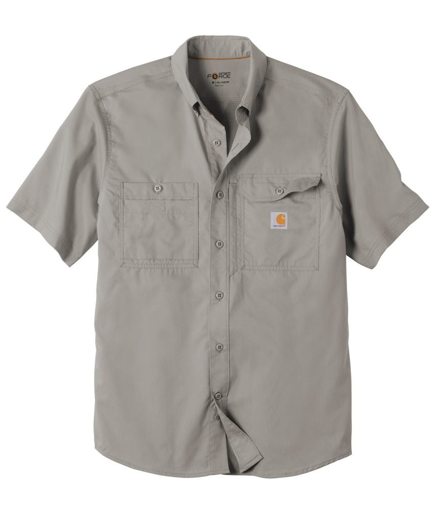 Carhartt Force ®Ridgefield Solid Short Sleeve Shirt