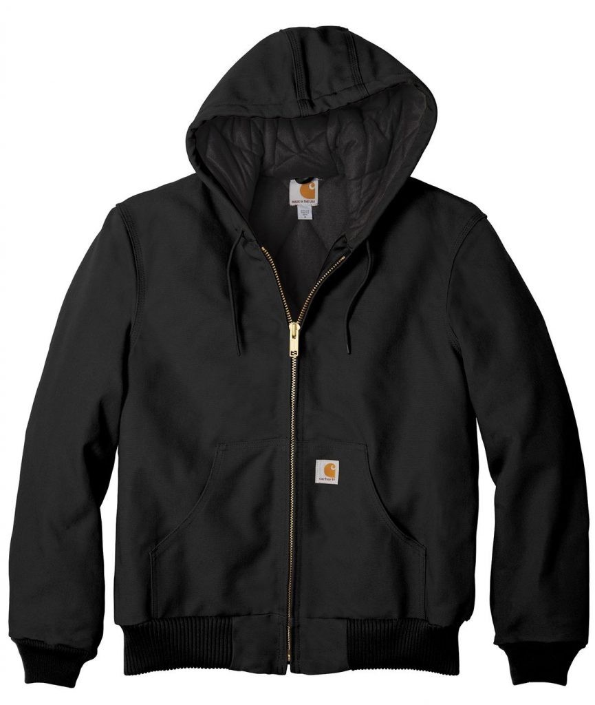 Carhartt ® Tall Quilted-Flannel-Lined Duck Active Jac